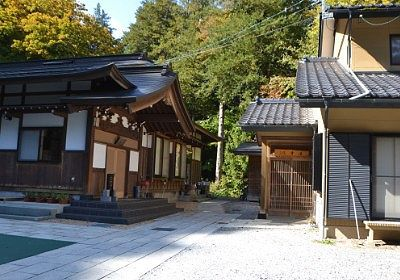 法華寺の寺務所