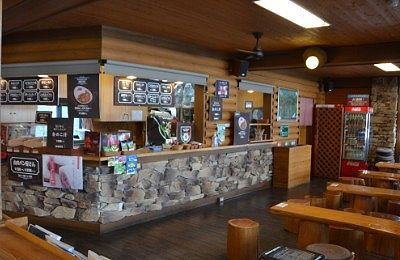 山頂売店喫茶山のカフェ2237の様子