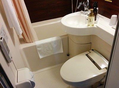 ユニットバストイレの様子