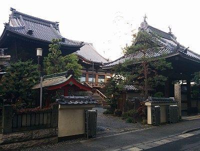 浄林寺の全景