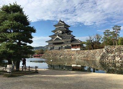 松本城と松本城公園