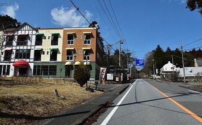 ホテルカジュアルユーロ前の道路