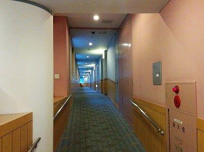 客室までの通路
