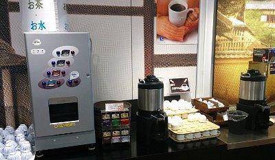 コーラ、ジュース、ウーロン茶などのドリンクバー、コーヒー、紅茶、お茶