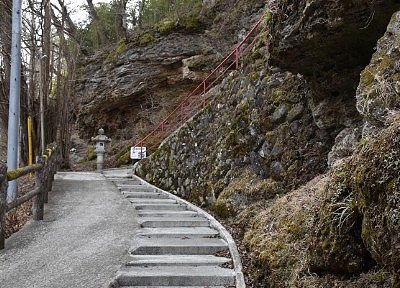 石段の様子