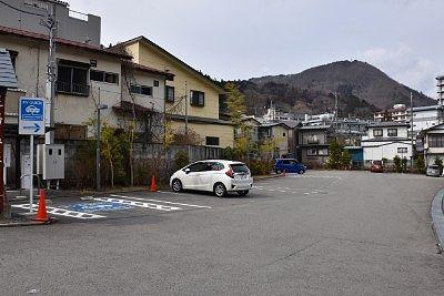 湯っ歩の里駐車場