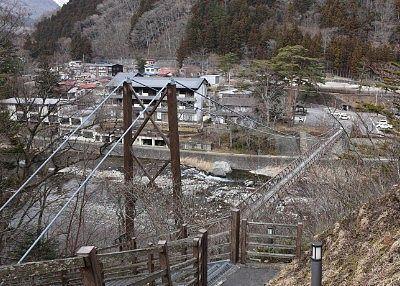 七ツ岩吊橋