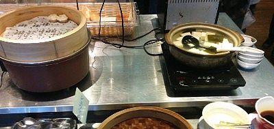 しゅうまい、湯豆腐
