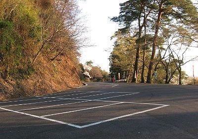 唐沢山神社駐車場