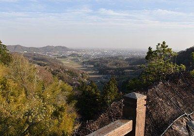 天狗岩からの景観