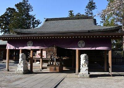 唐沢山神社拝殿