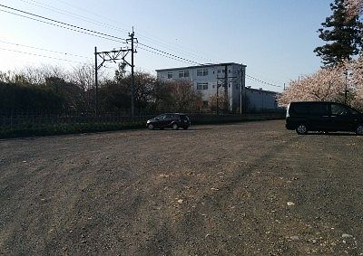 生品宮(生品神社)駐車場