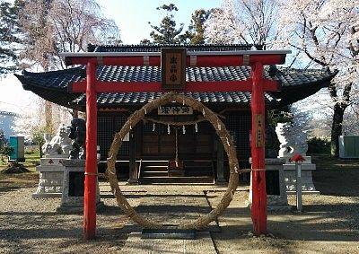 生品宮(生品神社)社殿
