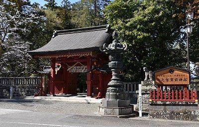 総門と唐銅製燈篭