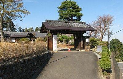 富岡市社会教育館の門