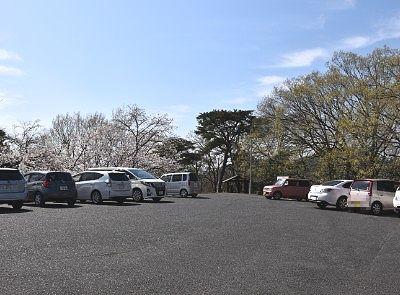 織姫公園駐車場