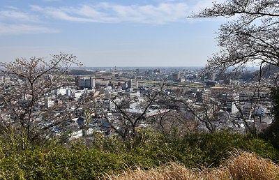 織姫公園からの景色