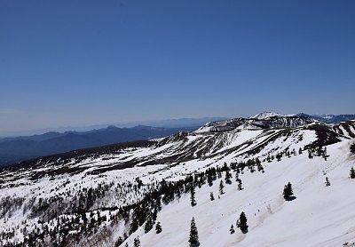 日本国道最高地点標高2172mからの景色