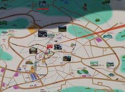 草津温泉地図