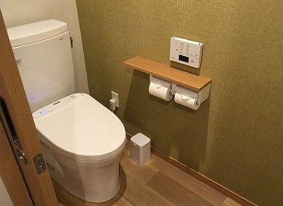 清潔で綺麗なトイレ