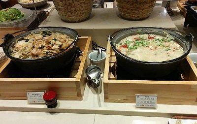 上州もち豚豆乳鍋と上州おっきりこみ鍋