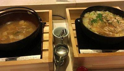 寄せ鍋や湯豆腐