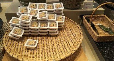 温泉たまご、納豆、味付け海苔