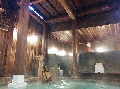 内風呂の湯屋