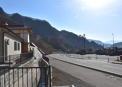 川原湯神社駐車場