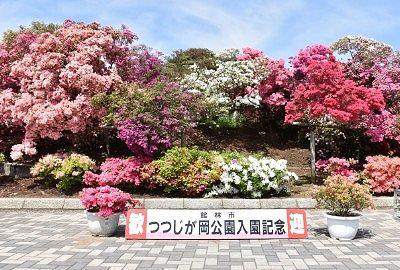 つつじが岡公園記念撮影スポット