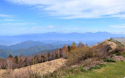 道の駅美ヶ原高原美術館から見えた景色