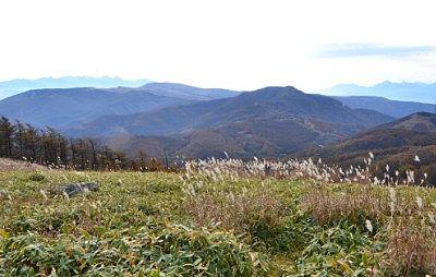 大展望台三峰茶屋からの景色