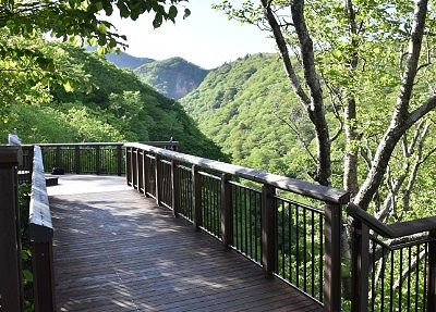 観瀑台の様子