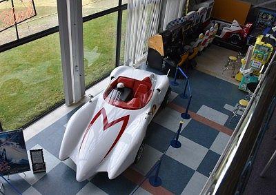 スピードレーサーのデモカー