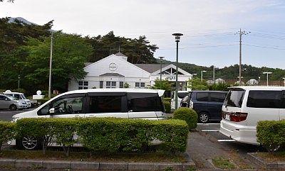 TOWAピュアコテージ駐車場の様子