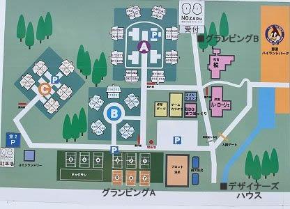 TOWAピュアコテージ敷地案内図