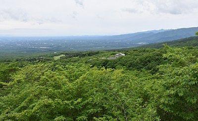 那須高原展望台(恋人の聖地)からの景色