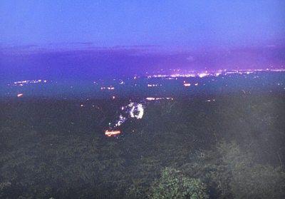 那須高原展望台(恋人の聖地)からの夜景