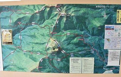 登山ルートマップ