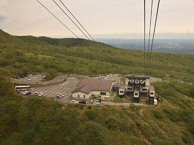 山麓駅側の景色