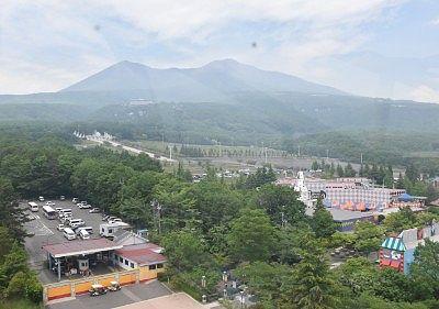 大観覧車から見た那須連山