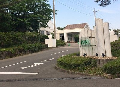 TOWAピュアコテージ入口