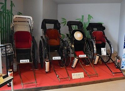 明治時代の人力車