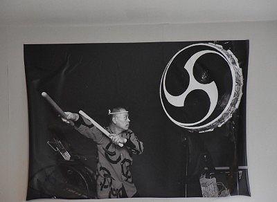 館長による大太鼓のポスター