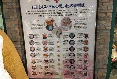 TEDじいさん家族のテディベア