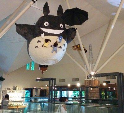 天井を飛んでたトトロ