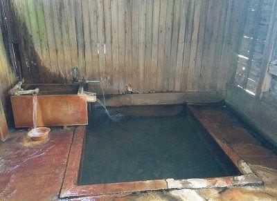 温泉プールにあった内風呂