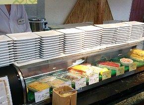寿司のカウンター
