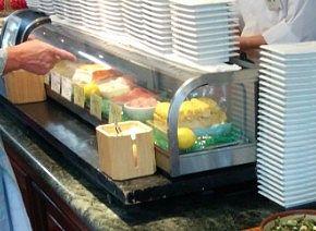 寿司を注文