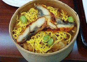 鰻のワッパ飯
